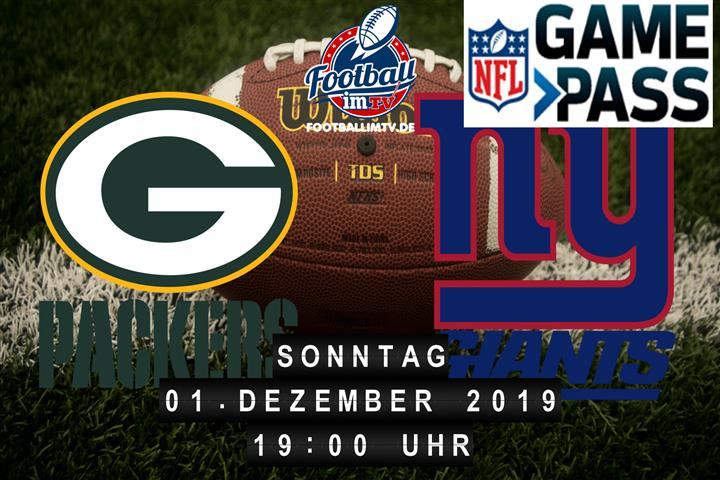 Green Bay Packers @ New York Giants