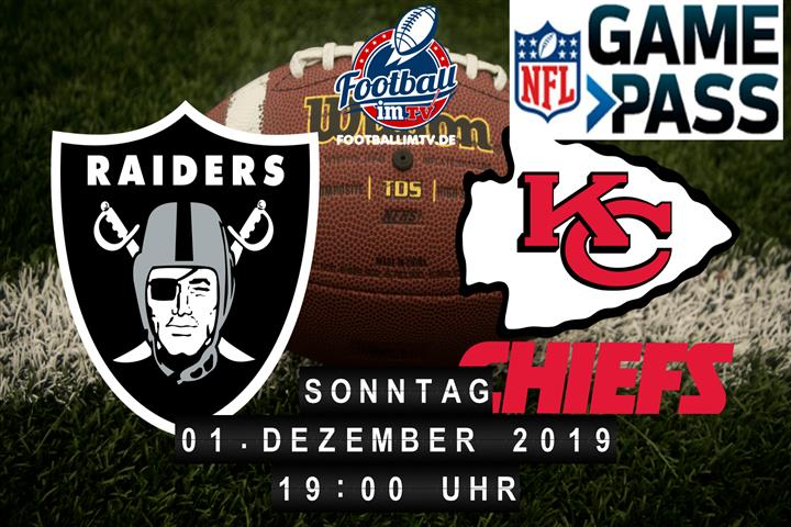 Oakland Raiders @ Kansas City Chiefs