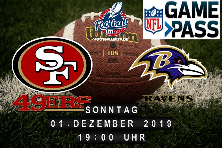 San Francisco 49ers @ Baltimore Ravens