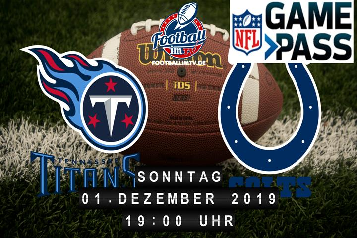 Tennessee Titans @ Indianapolis Colts