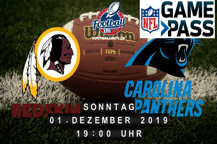 Washington Redskins @ Carolina Panthers