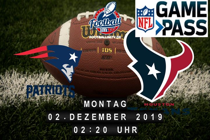 New England Patriots @ Houston Texans