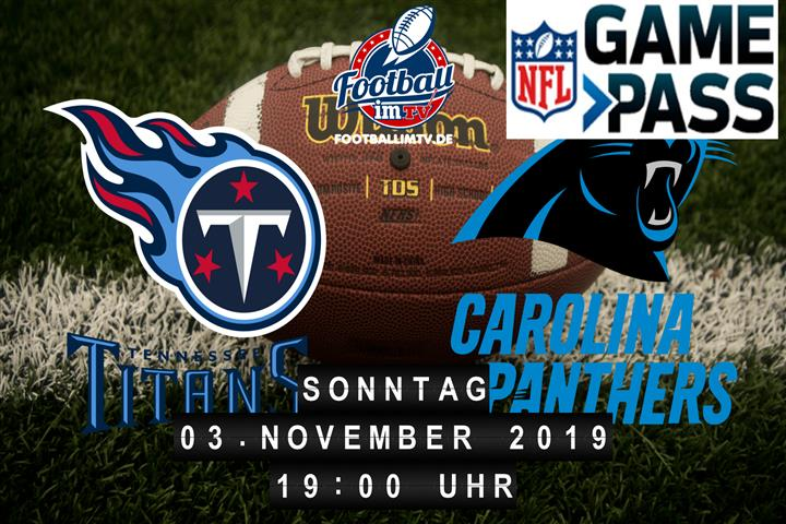 Tennessee Titans @ Carolina Panthers