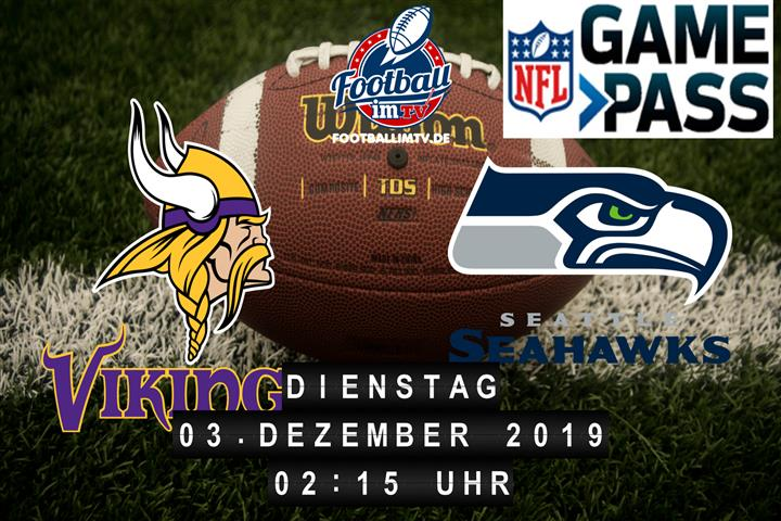 Minnesota Vikings @ Seattle Seahawks