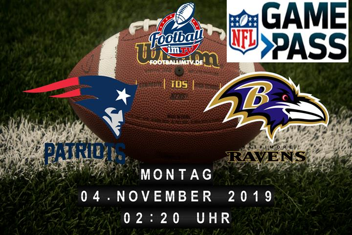 New England Patriots @ Baltimore Ravens