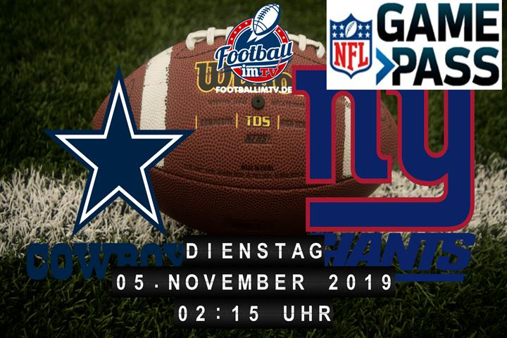 Dallas Cowboys @ New York Giants