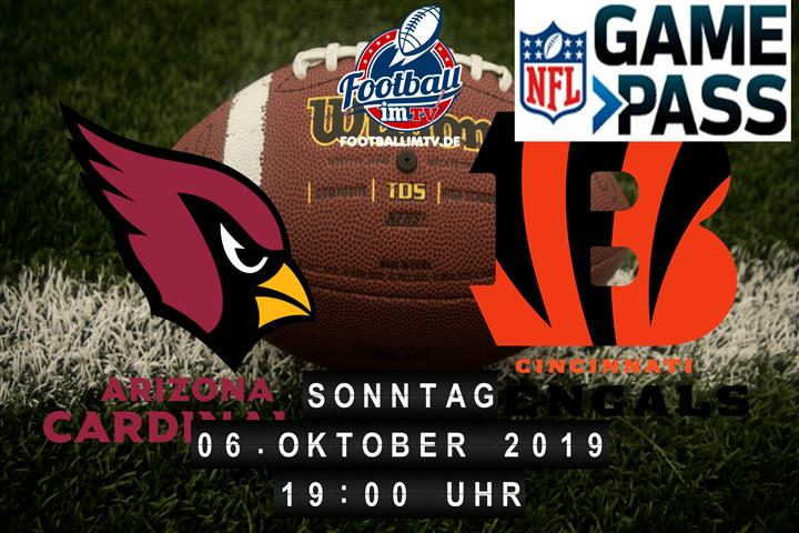 Arizona Cardinals @ Cincinnati Bengals