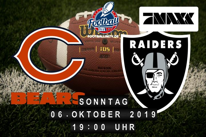 Chicago Bears @ Oakland Raiders