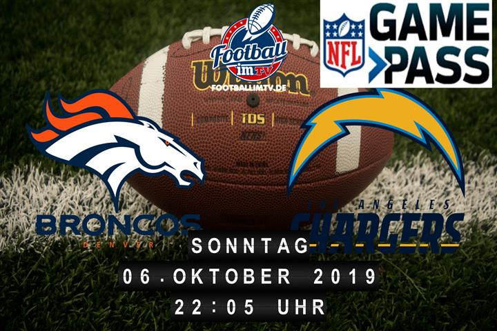 Denver Broncos @ Los Angeles Chargers