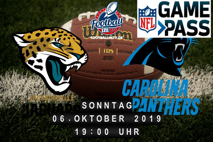 Jacksonville Jaguars @ Carolina Panthers