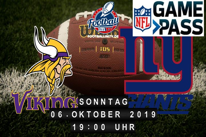 Minnesota Vikings @ New York Giants