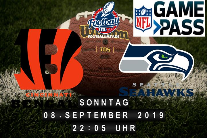 Cincinnati Bengals @ Seattle Seahawks