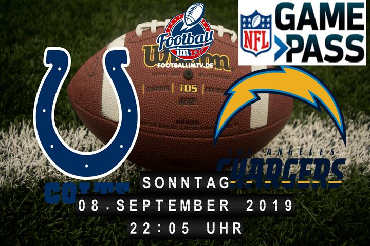 Indianapolis Colts @ Los Angeles Chargers