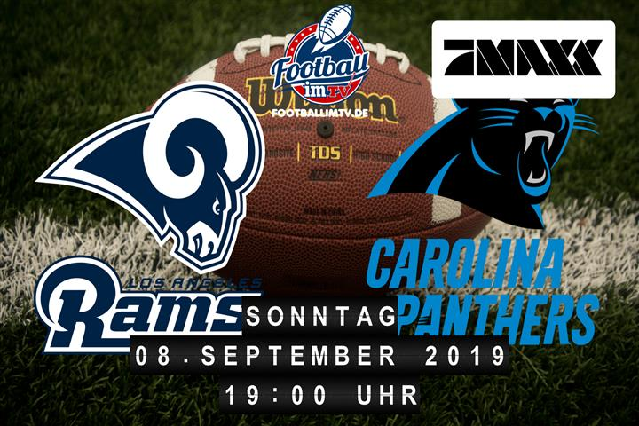 Los Angeles Rams @ Carolina Panthers