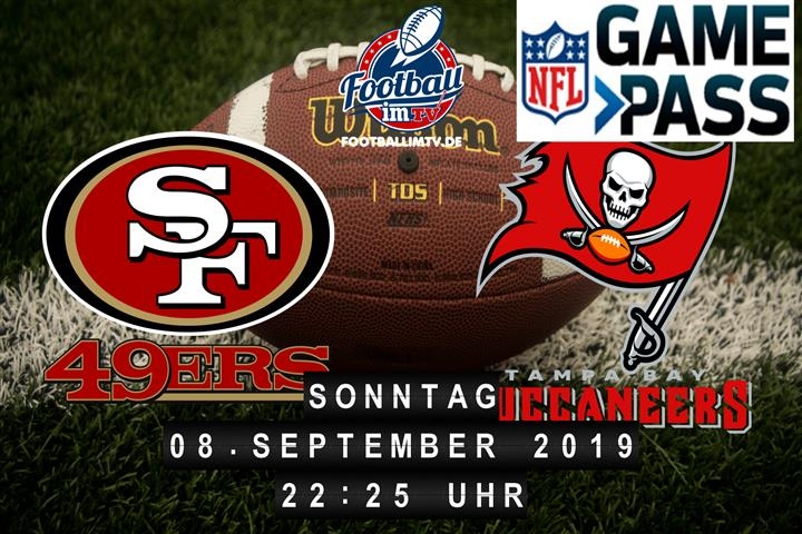 San Francisco 49ers @ Tampa Bay Buccaneers