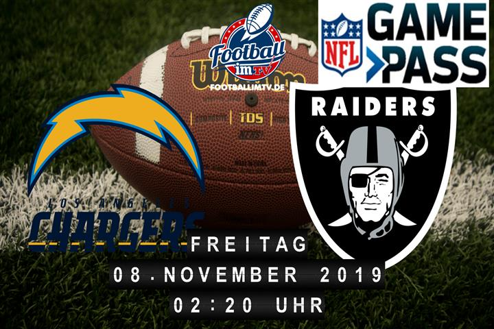 Los Angeles Chargers @ Oakland Raiders