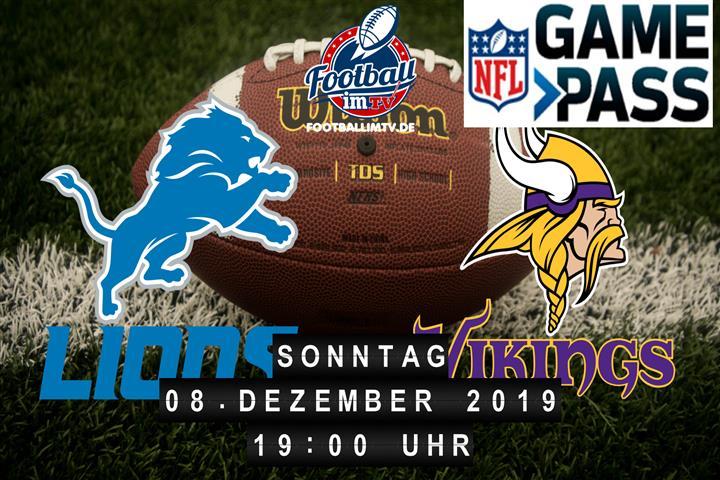 Detroit Lions @ Minnesota Vikings