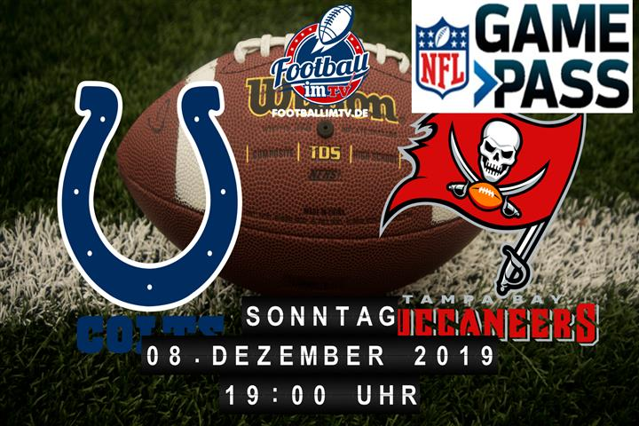 Indianapolis Colts @ Tampa Bay Buccaneers