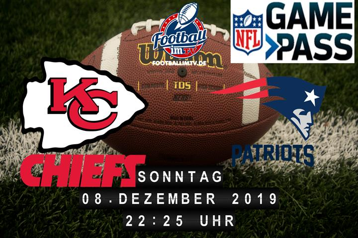 Kansas City Chiefs @ New England Patriots