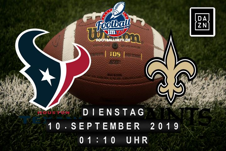 Houston Texans @ New Orleans Saints