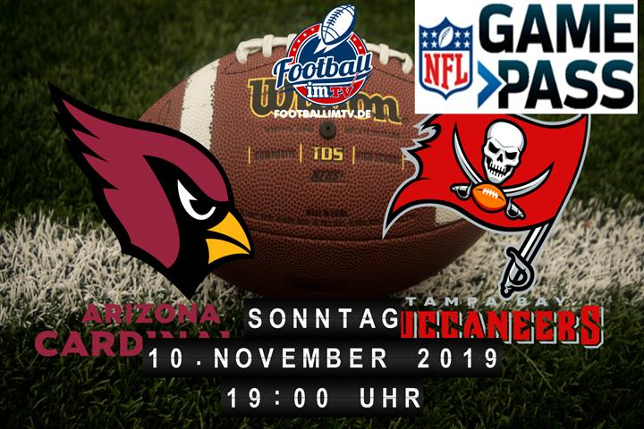 Arizona Cardinals @ Tampa Bay Buccaneers