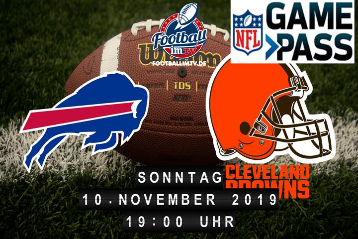 Buffalo Bills @ Cleveland Browns