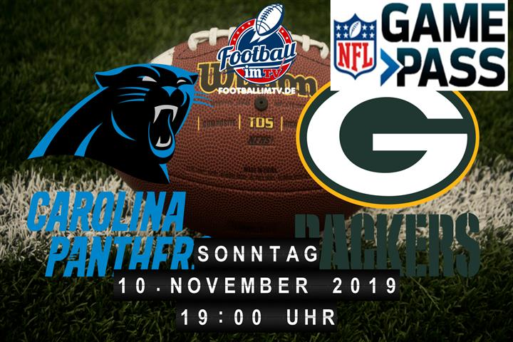 Carolina Panthers @ Green Bay Packers