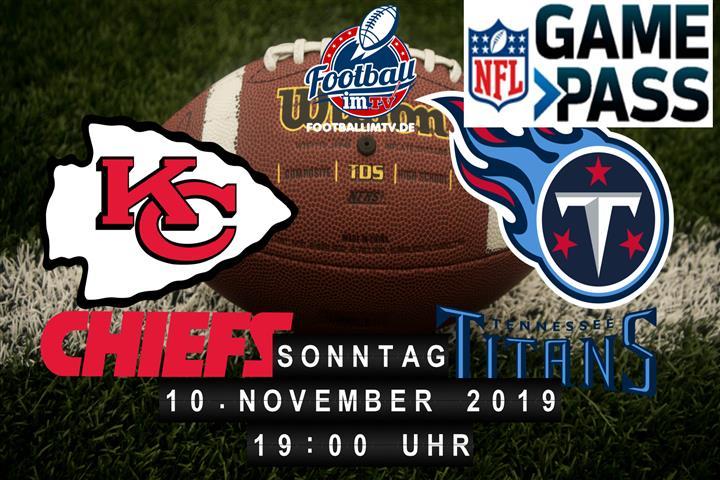 Kansas City Chiefs @ Tennessee Titans