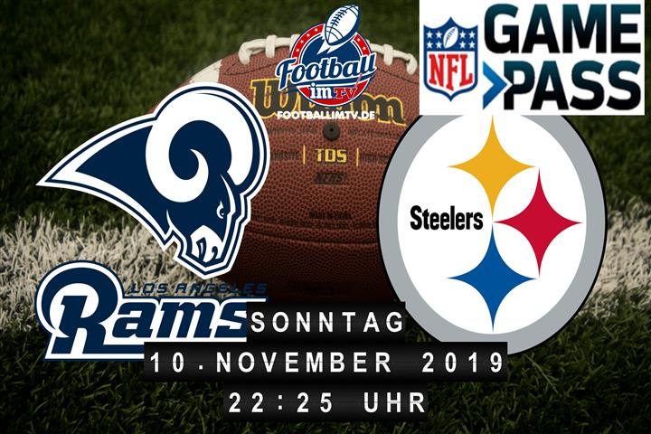 Los Angeles Rams @ Pittsburgh Steelers
