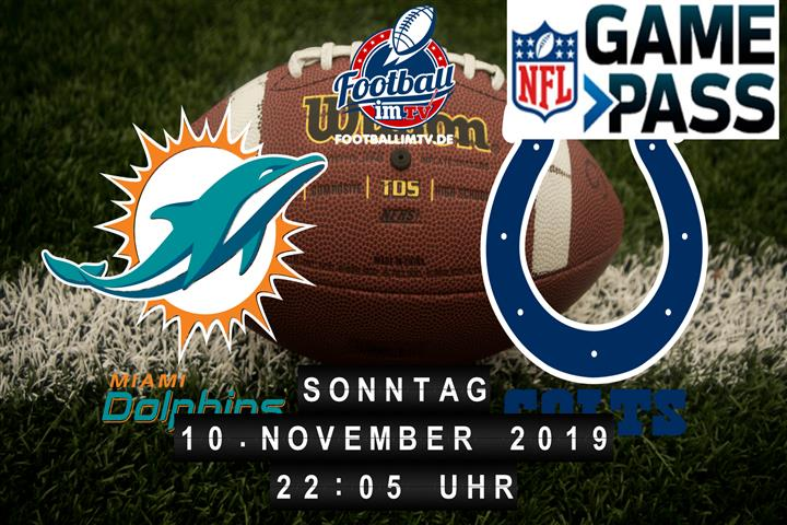Miami Dolphins @ Indianapolis Colts