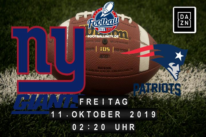 New York Giants @ New England Patriots