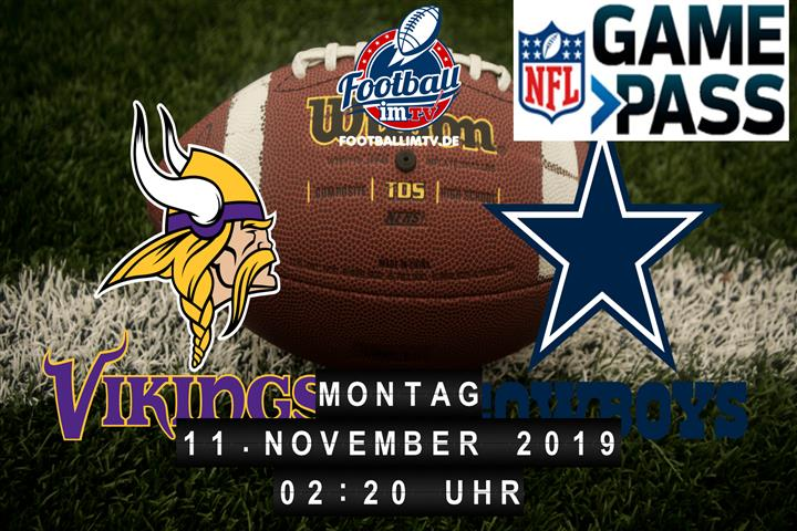 Minnesota Vikings @ Dallas Cowboys