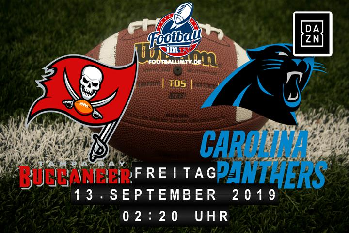Tampa Bay Buccaneers @ Carolina Panthers