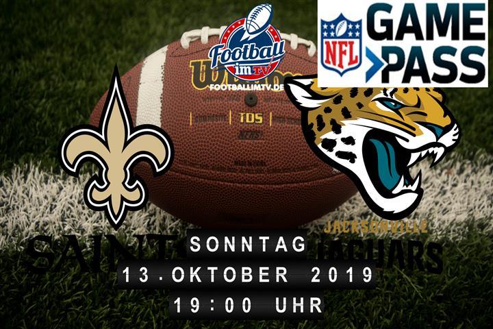 New Orleans Saints @ Jacksonville Jaguars