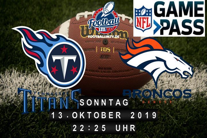 Tennessee Titans @ Denver Broncos