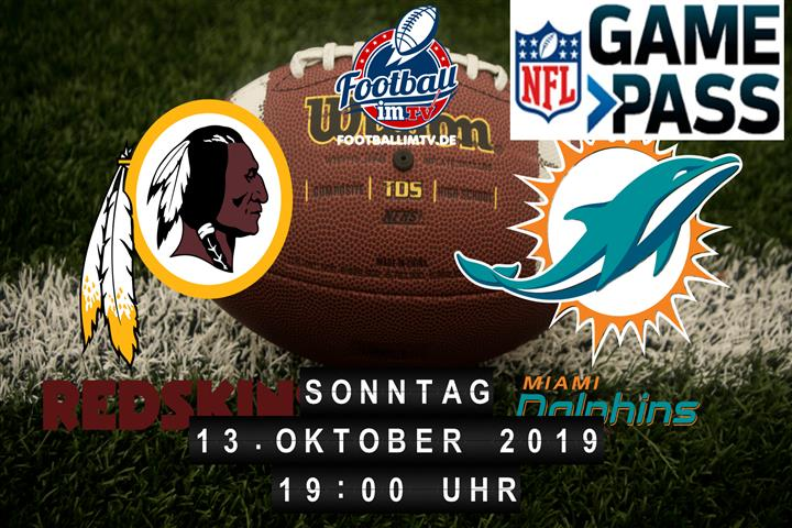 Washington Redskins @ Miami Dolphins