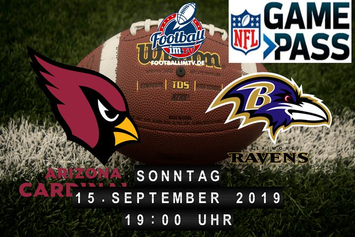 Arizona Cardinals @ Baltimore Ravens