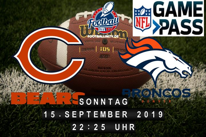 Chicago Bears @ Denver Broncos