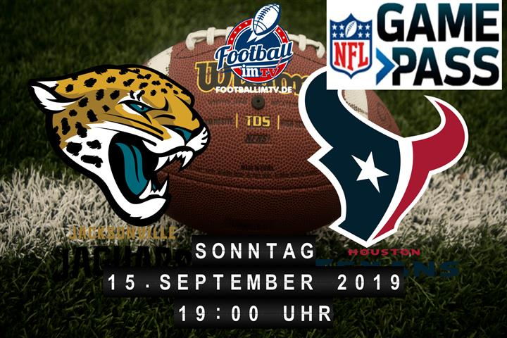 Jacksonville Jaguars @ Houston Texans
