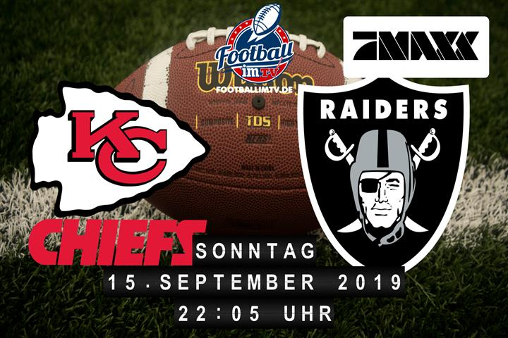 Kansas City Chiefs @ Oakland Raiders