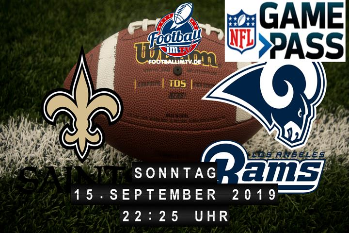 New Orleans Saints @ Los Angeles Rams