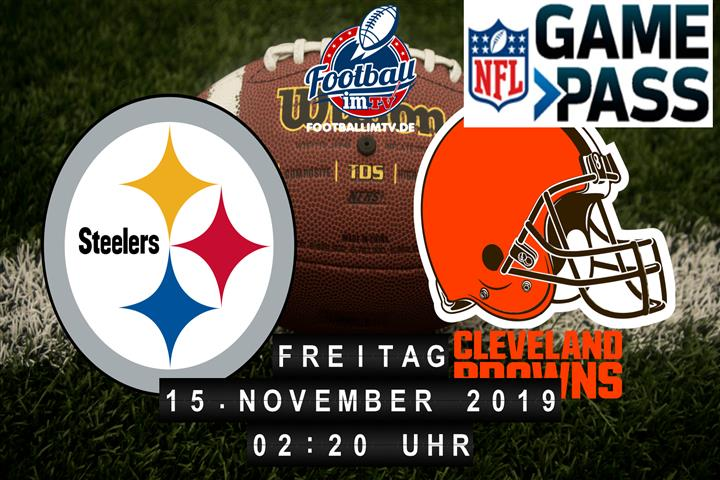 Pittsburgh Steelers @ Cleveland Browns