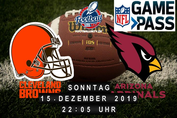 Cleveland Browns @ Arizona Cardinals