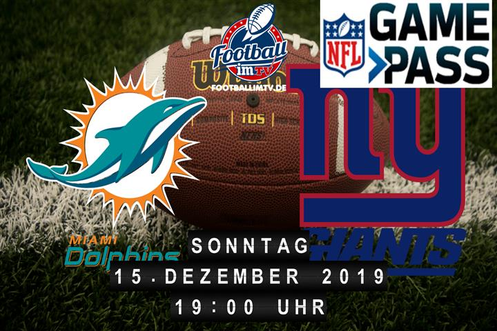 Miami Dolphins @ New York Giants