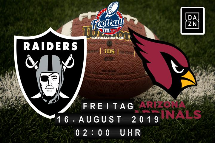 Oakland Raiders @ Arizona Cardinals