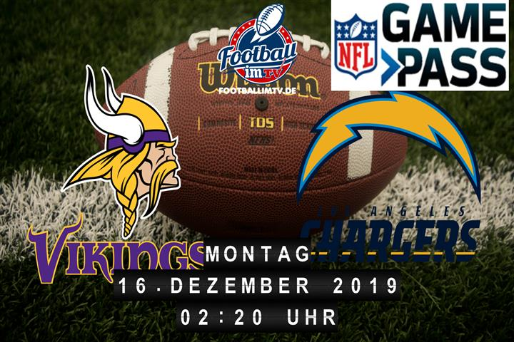 Minnesota Vikings @ Los Angeles Chargers
