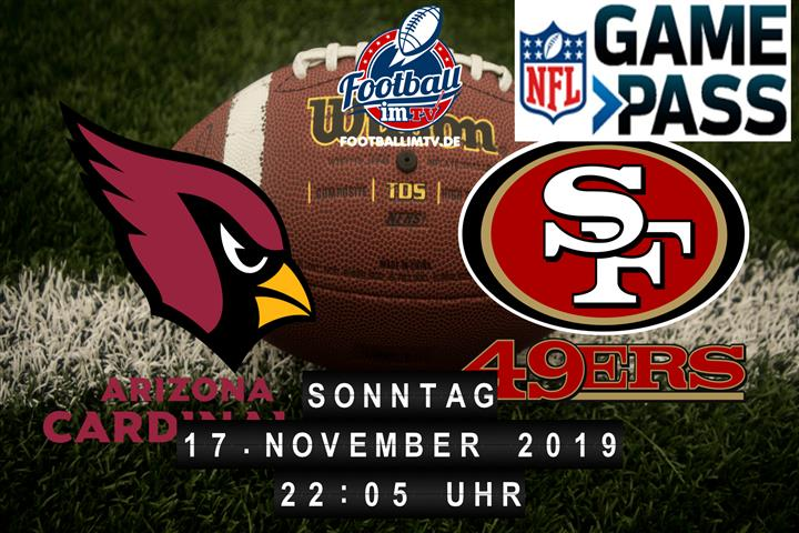 Arizona Cardinals @ San Francisco 49ers