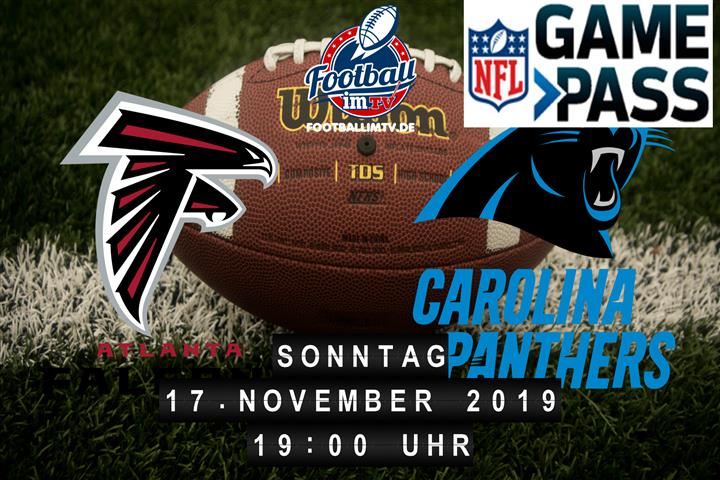 Atlanta Falcons @ Carolina Panthers