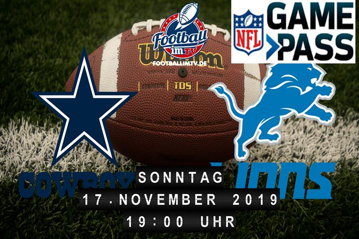 Dallas Cowboys @ Detroit Lions
