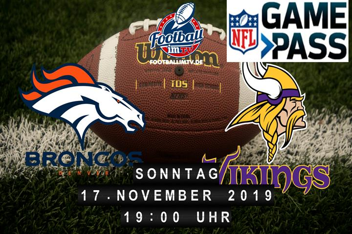 Denver Broncos @ Minnesota Vikings